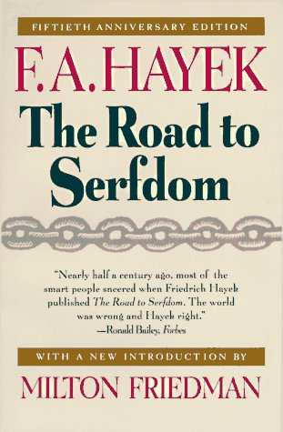 road to serfdom Hayek as it appeared in the april 1945 edition of this condensed version of the road to serfdom was first published in great britain in 1999 in 1944, and it is still not fully understood and appreciated today of which you now hold the condensed version in your hands, f a, the road to serfdom.